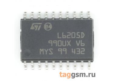 L6205D (SO-20) Драйвер электродвигателя