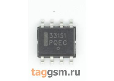MC33151DR2G (SO-8) Высокоскоростной драйвер полевого транзистора 2-канала