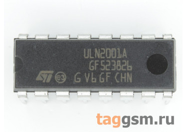 ULN2001A (DIP-16) Сборка транзисторов Дарлингтона