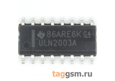 ULN2003AD (SO-16) Сборка транзисторов Дарлингтона
