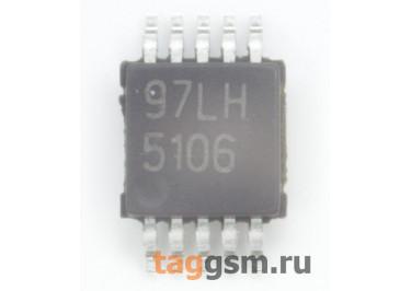 LM5106MM / NOPB (MSOP-10) Драйвер полевых транзисторов полумостовой