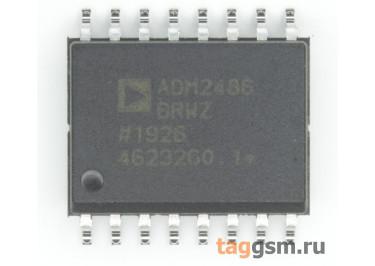 ADM2486BRWZ (SO-16) Изолированный приёмопередатчик RS-485 шины