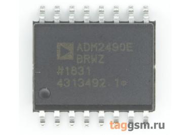 ADM2490EBRWZ (SO-16W) Изолированный приёмопередатчик RS-485 шины