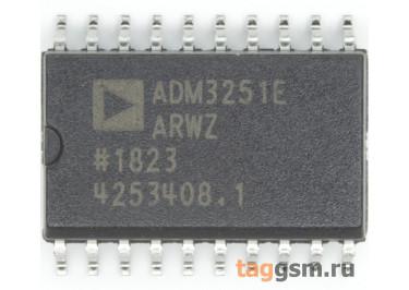 ADM3251EARWZ (SO-20) Изолированный приёмопередатчик RS-232 шины
