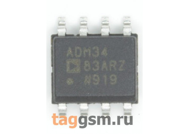 ADM3483ARZ (SO-8) Приёмопередатчик RS-485 / RS-422 шины