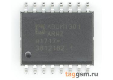 ADUM1301ARWZ (SO-16W) Трёхканальный изолятор цифрового сигнала