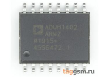 ADUM1402ARWZ (SO-16) Четырёхканальный изолятор цифрового сигнала