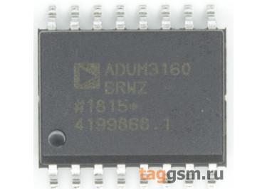 ADUM3160BRWZ (SO-16) Изолятор USB интерфейса