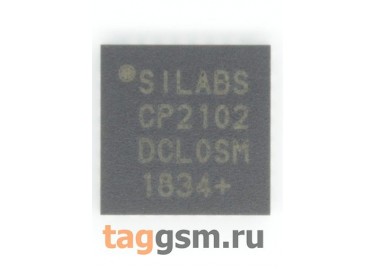 CP2102-GMR (VFQFN-28) Контроллер USB-UART