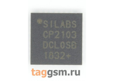 CP2103-GMR (VFQFN-28) Контроллер USB-UART