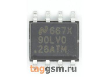 DS90LV028ATM (SO-8) Сдвоенный приёмник LVDS сигналов