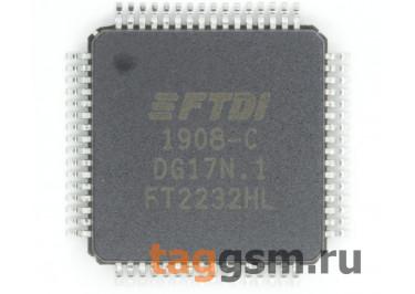 FT2232HL (LQFP-64) Контроллер USB-UART