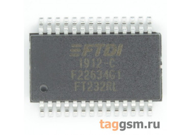 FT232RL (SSOP-28) Контроллер USB-UART