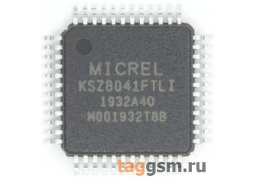 KSZ8041FTLI-TR (TQFP-48) Контроллер Еthernet