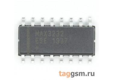 MAX3232ESE+T (SO-16) Приёмопередатчик RS-232 шины