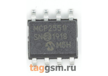 MCP2551-I / SN (SO-8) Приёмопередатчик CAN шины