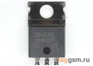 IRGB14C40L (TO-220) Биполярный транзистор IGBT 430В 14А
