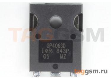 IRGP4063DPBF (TO-247) Биполярный транзистор IGBT 600В 48А