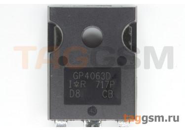 IRGP4063DPBF (TO-247AC) Биполярный транзистор IGBT 600В 48А