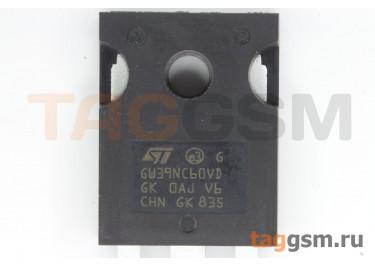 STGW39NC60VD (TO-247AC) Биполярный транзистор IGBT 600В 40А