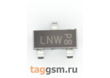 2N7002BK (SOT-23) Полевой транзистор N-MOSFET 60В 0,35А