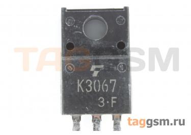 2SK3067 (TO-220F) Полевой транзистор N-MOSFET 600В 2А