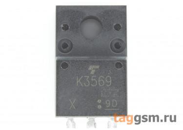2SK3569 (TO-220FP) Полевой транзистор N-MOSFET 600В 10А