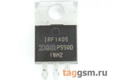 IRF1405 (TO-220) Полевой транзистор N-MOSFET 55В 169А