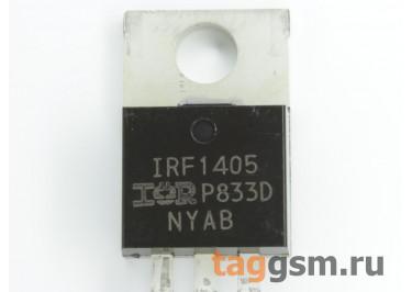 IRF1405PBF (TO-220AB) Полевой транзистор N-MOSFET 55В 169А