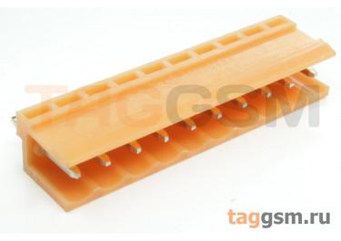 HT396V-3.96-10P (Оранжевый) Разъемный клеммник на плату 10 конт. шаг 3,96мм 150В 8А
