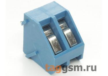 LF330-5.0-02P (Синий) Винтовой клеммник на плату 2 конт. шаг 5мм 300В 15А