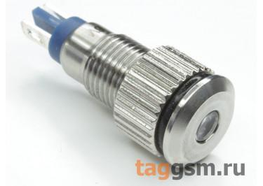 QN8-LED-A  / Blue Светодиодный индикатор на панель 6В 8мм (Синий)