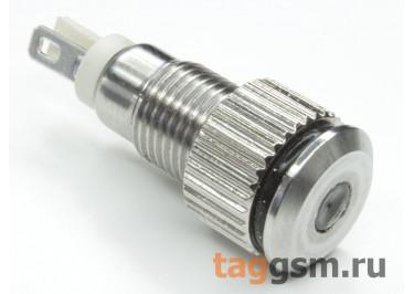QN8-LED-A  / White Светодиодный индикатор на панель 6В 8мм (Белый)