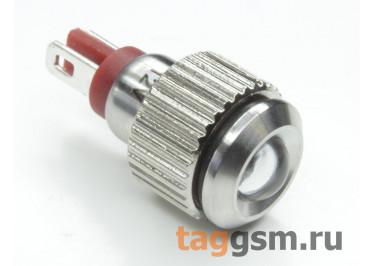 QN8-LED-B  / Red Светодиодный индикатор на панель 12В 8мм (Красный)