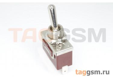 QN101A-10J Тумблер на панель ON-OFF SPST 250В 15А (12мм)