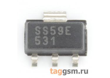 SS59ET (SOT-89) Датчик Холла