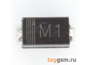 SMA4001 (DO-214AC) Диод выпрямительный SMD 50В 1А