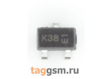 BSS138W (SOT-323) Полевой транзистор P-MOSFET 20В 0,2А