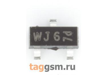 BSH201 (SOT-23) Полевой транзистор P-MOSFET 60В 0,3А