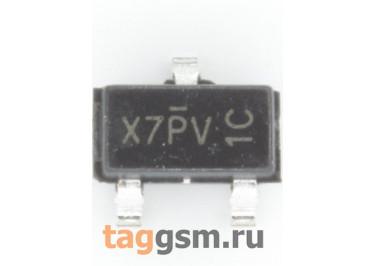 AO3407A (SOT-23) Полевой транзистор P-MOSFET 30В 4,3А