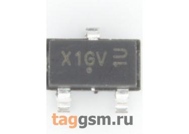 AO3401A (SOT-23) Полевой транзистор P-MOSFET 30В 4А