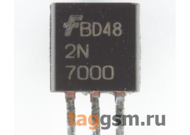 2N7000G (TO-92) Полевой транзистор N-MOSFET 60В 0,2А