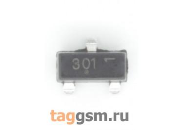 FDV301N (SOT-23) Полевой транзистор N-MOSFET 25В 0,22А