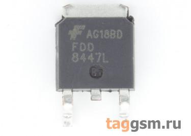 FDD8447L (D-PAK) Полевой транзистор N-MOSFET 40В 50А