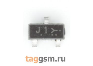BSS138LT1G (SOT-23) Полевой транзистор N-MOSFET 50В 0,2А