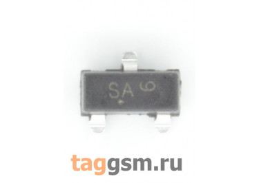 BSS123 (SOT-23) Полевой транзистор N-MOSFET 100В 0,17А