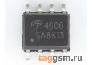AO4606 (SO-8) Полевой транзистор N / P-MOSFET 30В 6 / 6,5А