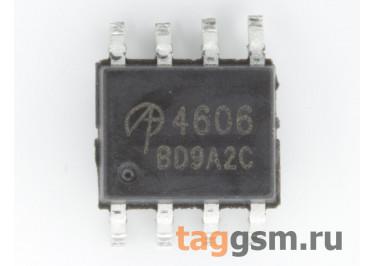AO4606 (SO-8) Полевой транзистор N / P-MOSFET 30В 6A / 6,5A
