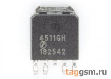 AP4511GH (TO-252-4L) Полевой транзистор N / P-MOSFET 35В 15A / 12A
