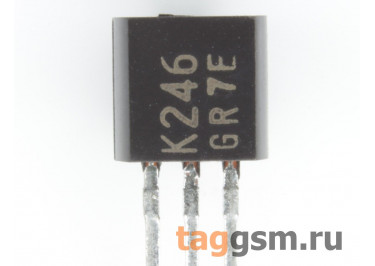 2SK246-GR (TO-92) Полевой транзистор N-JFET 50В 6,5мА